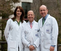 Shady Grove Fertility's Wende Allen, PA-C, Ricardo Yazigi, MD and Eugene Katz, MD