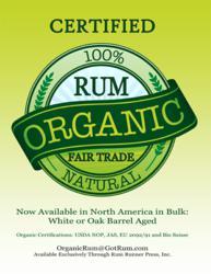 Organic Rum in USA