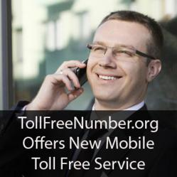 TollFreeNumber.org Offers New Mobile Service