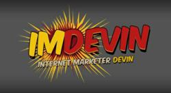 gI 116435 imdevinlogo Internet Marketing Website IMDevin.com Launches its New and User Friendly Site