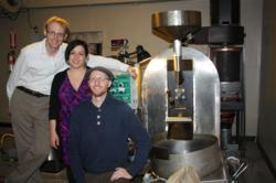 solar roast coffee, green business, franchise