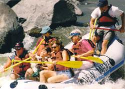 Guests enjoy all ranch activities, as well as whitewater rafting on the Rio Grande