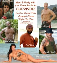 Celebrity Vegas Tours Survivor Flyer