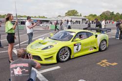 Green Apple's GT Cup Ferrari