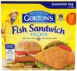 Gorton's new Fish Sandwich Fillets are one of many products to be featured during the Gorton's Seafood Challenge