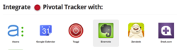 Pivotal Tracker integrations