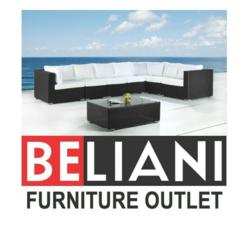Beliani has patio furniture and discounted leather sofas