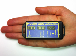 The Mobile GDO Controller Is Very Small and Compact, Easy To Install, Works With Your iPhone