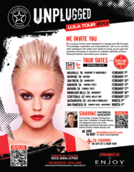 Hairdresser Power Unplugged Tour Spring 2013