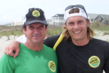 Team Champions Craig Stephens and Matt Whistoff. 2012 Wrightsville Beach Biathlon