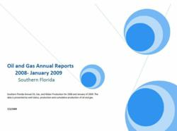Oil and Gas Industry Sample Report Template