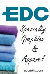 EDC promotional products and apparel