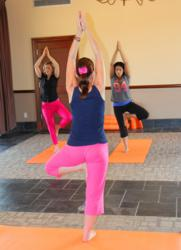 Yoga at the Westin La Cantera