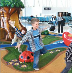 Toronto Pearson International Airport Play Area