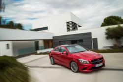 new Mercedes CLA Class