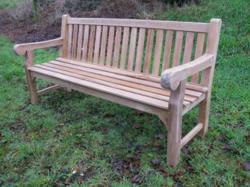 River Bank Bench - Professor R J 'Bill' Heald in recognition for receiving a CBE