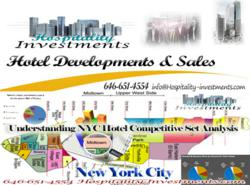 Hospitality Investments & Hotel Developments in NYC. Hotel Development Services in New York City 646-651-4554 http://Hopsitality-investments.com