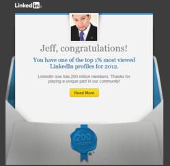 Top 1% of LinkedIn Profiles