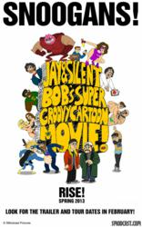 Jay & Silent Bob's Super Groovy Cartoon Movie Tour Kicks off on 4/20/13