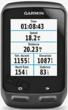 garmin edge 510, real-time data, touch screen, barometric altimeter