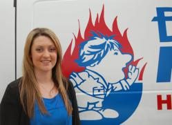 San Diego plumber, Bill Howe, welcomes Cassie Weinhold to the Account Management Team