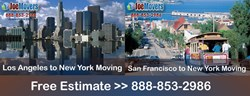 Joe Movers - New York to Los Angeles California Professional Movers