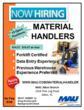 MAU Workforce Solutions is Hiring 15 Material Handlers