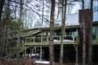 The newly completed Tree House in winter