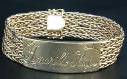 "Amarillo Slim's """"1990 WSOP Champion"" bracelet"