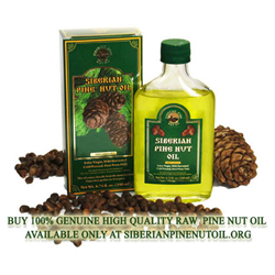 Genuine Pine Nut Oil