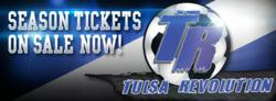 Tulsa Revolution Announces Season Tickets for 2013-2014 Season in Downtown Tulsa