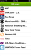Image of SoundGecko v2 iOS App US news content