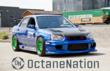 Custom Subaru WRX sponsored by OctaneNation