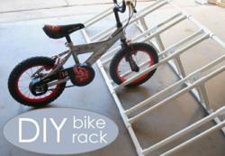 how to make a bike rack
