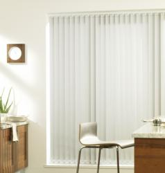 Silver Vertical Blind
