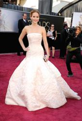 Jennifer Lawrence 2013 Oscar winner