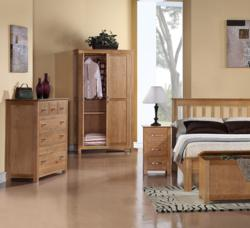 Utah Oak Flexible Wardrobes