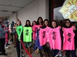 Fans line up in the rain at Beach Bum Tanning Saddle Brook to meet Snooki.