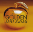 Image of a golden apple with Golden Apple Awards engraved