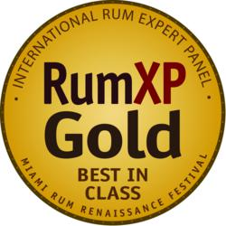 The RumXP Gold Award is among the most coveted achievements in the spirits industry.