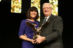 Mary Kennedy Thompson, Mr. Rooter President, Receives the IFA's Bonny LeVine Award
