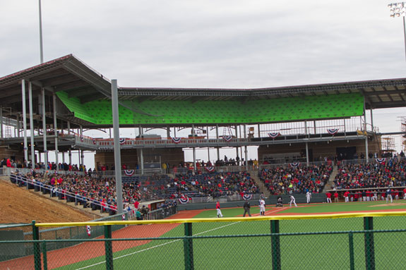 New Liberty University Baseball Stadium Opens For First Game