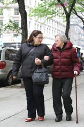 Trained Escorts Accompany Frail Elderly