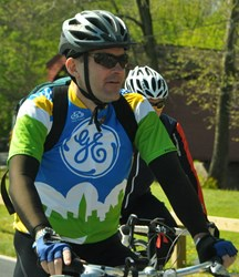 General Electric team rider.