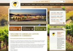 california camber of commerce website design