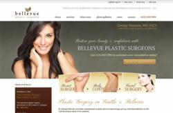 medical website design bellevue