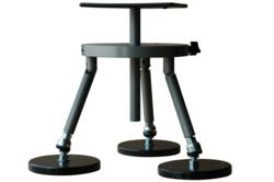 Anodized Aluminum Tripod with Magnetic Bases