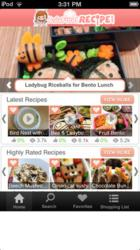Asia Food Recipe IPhone Screenshot