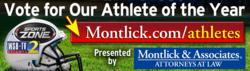 Montlick & Associates, Montlick Athlete of the week, Montlick Athlete of the year, Montlick & Associates Athlete of the Week, Montlick & Associates Athlete of the year, Georgia Accident Attorneys
