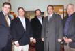 Congressman Mike Fitzpatrick, Patrick Kennedy, Patrick Cleary, State Senator Chuck McIlhinney, Rich Slabinski. Photo by Randl Bye